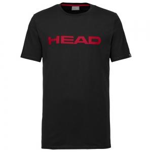 Maglietta Tennis Uomo Head Club Ivan Maglietta  Black/Red 811400BKRD