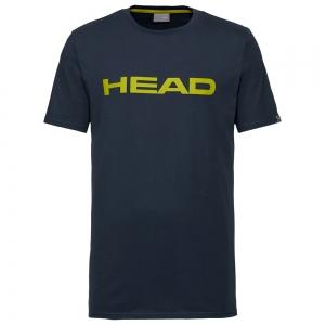 Maglietta Tennis Uomo Head Club Ivan Maglietta  Dark Blue/Yellow 811400DBYW