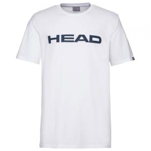 Men's Tennis Shirts Head Club Ivan TShirt  White/Dark Blue 811400WHDB