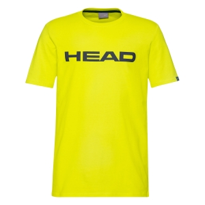Polo y Camisetas de Tenis Head Club Ivan Camiseta Nino  Yellow/Dark Blue 816700 YWDB