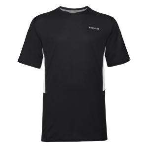 Tennis Polo and Shirts Head Club Tech TShirt Boy  Black 816339 BK