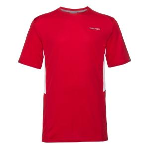 Tennis Polo and Shirts Head Club Tech TShirt Boy  Red 816339 RD
