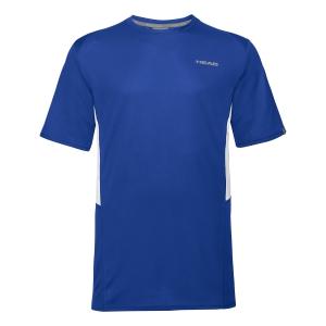 Tennis Polo and Shirts Head Club Tech TShirt Boy  Royal 816339 RO