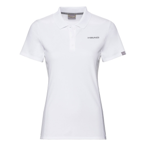 Top y Camisetas Niña Head Club Tech Polo Nina  White 816449 WH