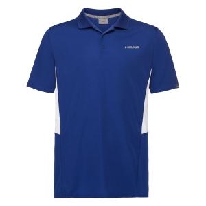 Tennis Polo and Shirts Head Club Tech Polo Boy  Royal 816329 RO