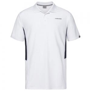 Men's Tennis Polo Head Club Tech Polo  White/Dark Blue 811339WHDB