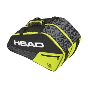 Padel Bags Head Core Combi Bag  Black/Yellow 283889 BKNY