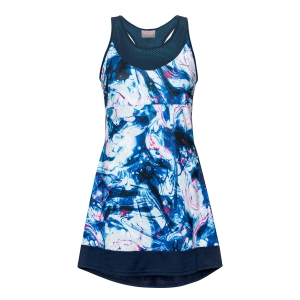 Vestitino Tennis Girl Head Demi Vestito Bambina  Caleidoscope Print/Dark Blue 816320 XHDB