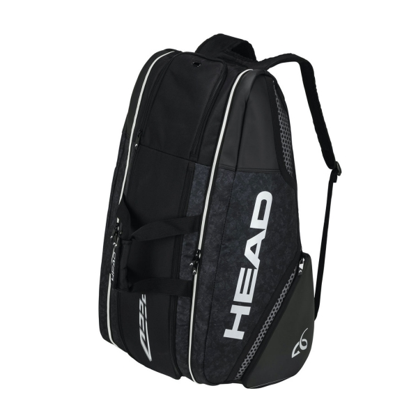 Head Djokovic x 12 Monstercombi Bag - Black/White