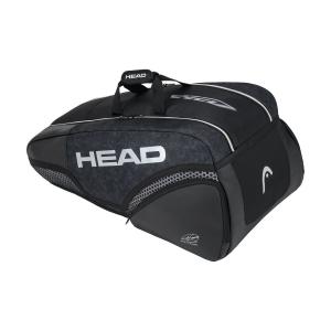 Tennis Bag Head Djokovic x 9 Supercombi Bag  Black/White 283050 BKWH