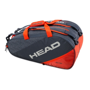 Padel Bag Head Elite Supercombi Bag  Black/Orange 283980 GROR