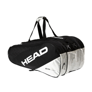 Tennis Bag Head Elite x 12 Monstercombi Bag  Black/White 283530 BKWH
