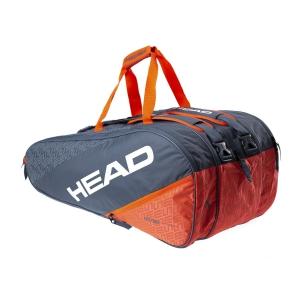 Tennis Bag Head Elite x 12 Monstercombi Bag  Grey/Orange 283530 GROR