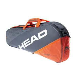Tennis Bag Head Elite x 3 Pro Bag  Grey/Orange 283560 GROR