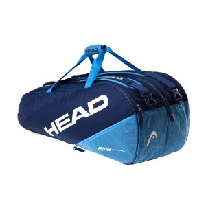 Tennis Bag Head Elite x 9 Supercombi Bag  Navy/Blue 283540 NVBL