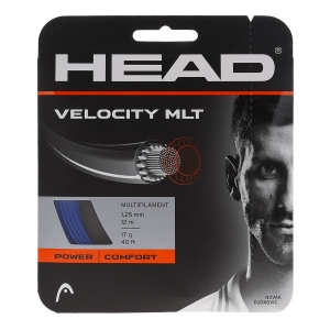 Multifilament String Head MultiPower Velocity 1.25 Set 12 m  Blue 281404 17BL
