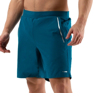 Men's Tennis Shorts Head Performance 7.5in Shorts  Lagoon 811030 LO