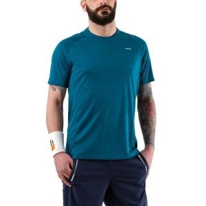 Camisetas de Tenis Hombre Head Performance Camiseta  Lagoon 811040 LO