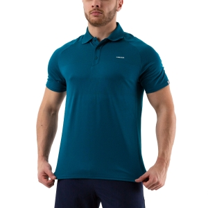 Men's Tennis Polo Head Performance Polo  Lagoon 811000 LO