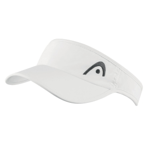 Tennis Hats and Visors Head Pro Player Visor  White 287139 WH