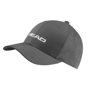 Tennis Hats and Visors Head Promotion Cap  Anthracite Grey 287299 ANGR