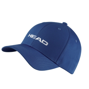 Tennis Hats and Visors Head Promotion Cap  Blue 287299 BL