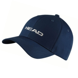 Tennis Hats and Visors Head Promotion Cap  Navy 287299 NV
