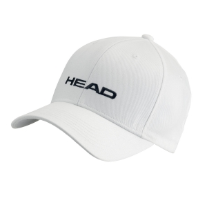 Tennis Hats and Visors Head Promotion Cap  White 287299 WH