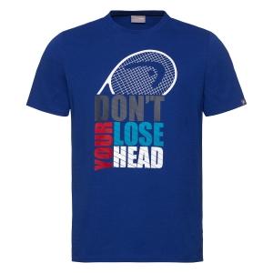 Polo y Camisetas de Tenis Head Return Camiseta Nino  Royal Blue 816330 RO