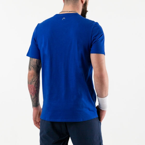Head Return Camiseta - Royal Blue