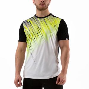 Maglietta Tennis Uomo Head Slider Maglietta  Black/Yellow 811240 BKYW