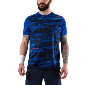 Camisetas de Tenis Hombre Head Slider Camiseta Camo/Dark Blue 811240 XK