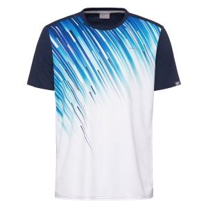 Polo y Camisetas de Tenis Head Nino Slider Camiseta  Dark Blue/Royal Blue 816200 DBRO