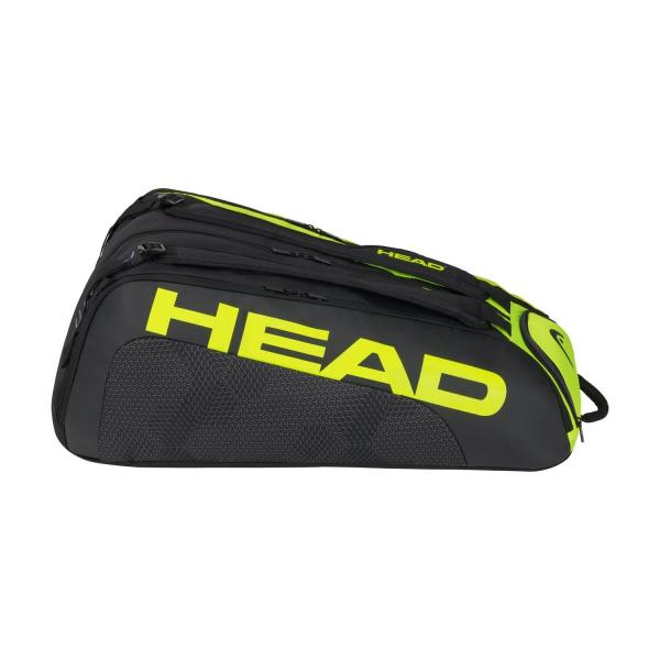 Head Tour Team Extreme Monstercombi x 12 Bag - Black/Neon Yellow
