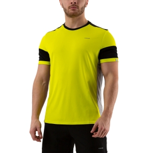 Maglietta Tennis Uomo Head Volley Maglietta  Yellow/Black 811330 YWBK