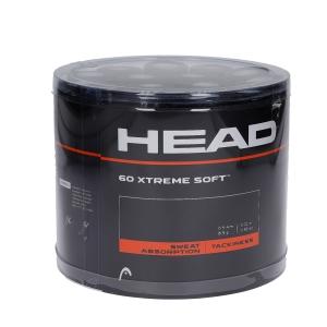 Overgrip Head Xtreme Soft x 60 Box Overgrip  Black 285425 BK
