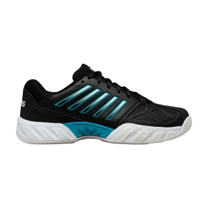 Men`s Tennis Shoes KSwiss Bigshot Light 3  Black/White/Algiers Blue 05366029M