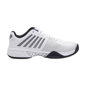 Men`s Tennis Shoes KSwiss Express Light 2 Clay  White/Black/Barly Blue 06611130M