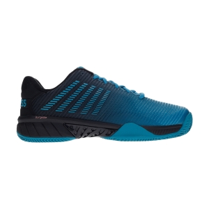 Men`s Tennis Shoes KSwiss Hypercourt Express 2 Clay  Algiers Blue/Black 06614426M