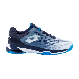Calzado Tenis Hombre Lotto Mirage 100 Speed  All White/Diva Blue/Navy Blue 2107325Z0