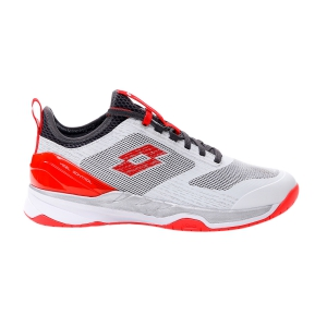Calzado Tenis Hombre Lotto Mirage 200 Speed  All White/Red/Poppy Asphalt 2136276O5