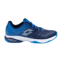 Lotto Mirage 300 II Clay - Navy Blue/All White/Diva Blue