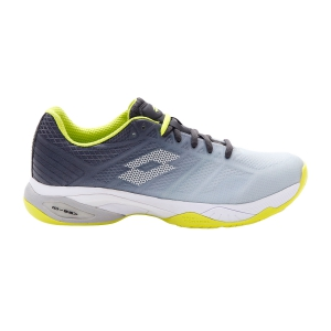 Calzado Tenis Hombre Lotto Mirage 300 II Speed  Silver Metal/All White/Asphalt 2136296O6