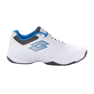 Men`s Tennis Shoes Lotto Space 600 II All Round  All White/Silver Metal/Gravity Titan 2136305Y0