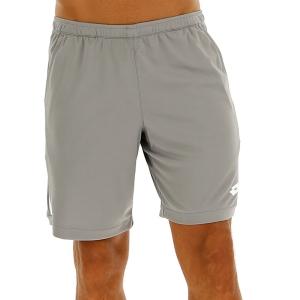 Men's Tennis Shorts Lotto Squadra 9in Shorts  Alloy Gray 2103781CH