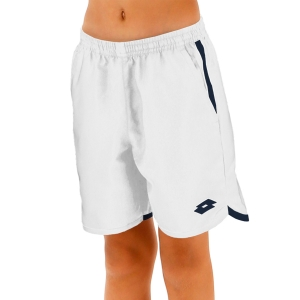 Tennis Shorts and Pants for Boys Lotto Squadra 7in Shorts Boy  Brilliant White 21220607R