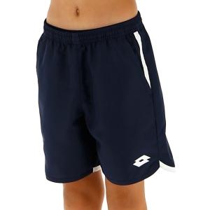 Pantalones Cortos Tenis Hombre Lotto Squadra 7in Shorts Nino  Navy Blue 2122061CI