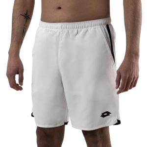 Pantalones Cortos Tenis Hombre Lotto Squadra 7in Shorts  Brilliant White 21186907R