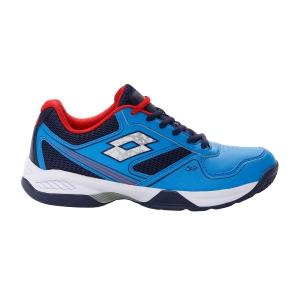 Padel Shoes Lotto Superrapida 400 II  Diva Blue/Navy Blue/Red Poppy 21366661R