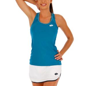 Women`s Tennis Tanks Lotto Teams Tank  Mosaic Blue 21039226P
